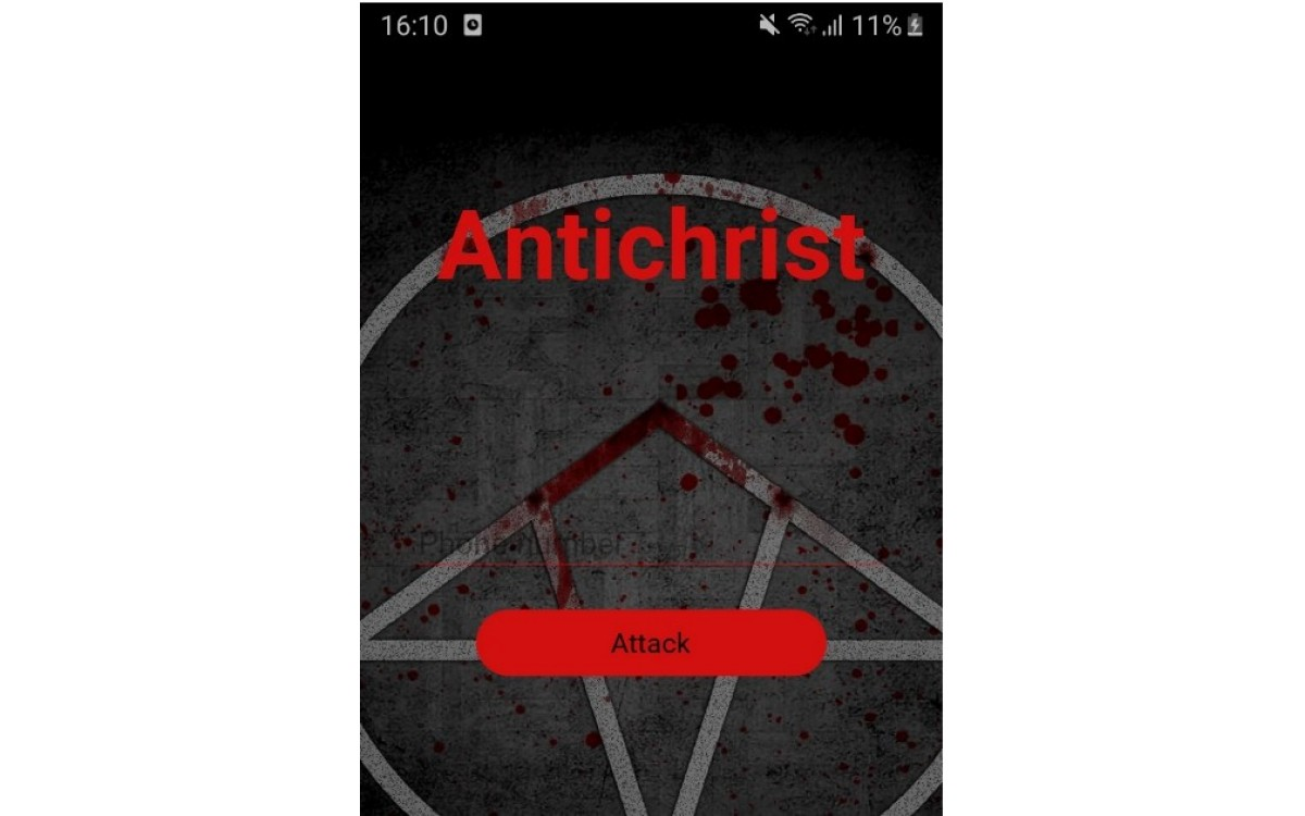 Sms bomber Antichrist / смс бо..